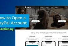 PayPal Account Opening