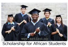 Scholarship for African Students