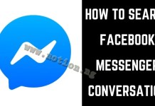 Search Facebook Messages