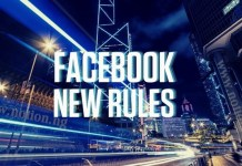 Facebook New Rules