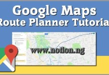 Google Map Route And Feature