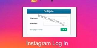 Instagram Account Login Process