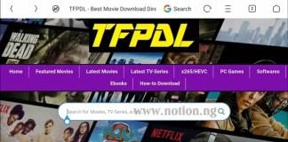 TFPDL Latest Movies Download Platform