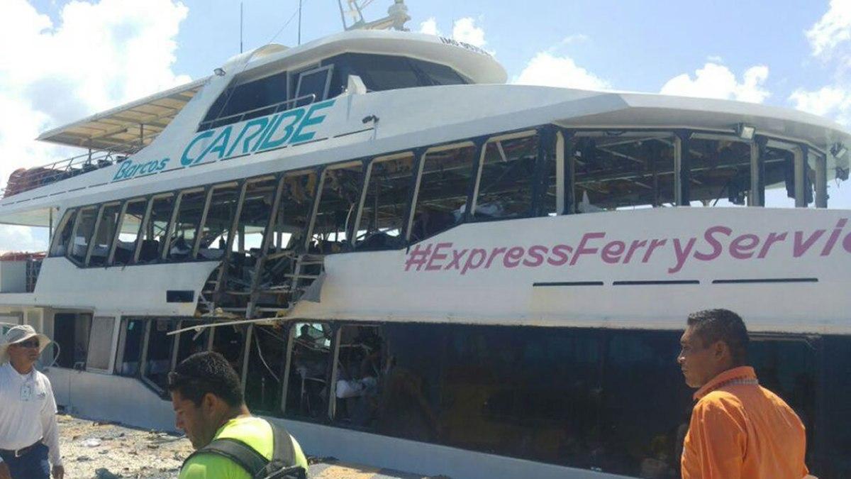 Explosión del barco causa grave daño a la imagen de Quintana Roo