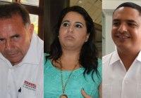 Pech, Mayuli y King de la Rosa por el Senado el 1 de Julio