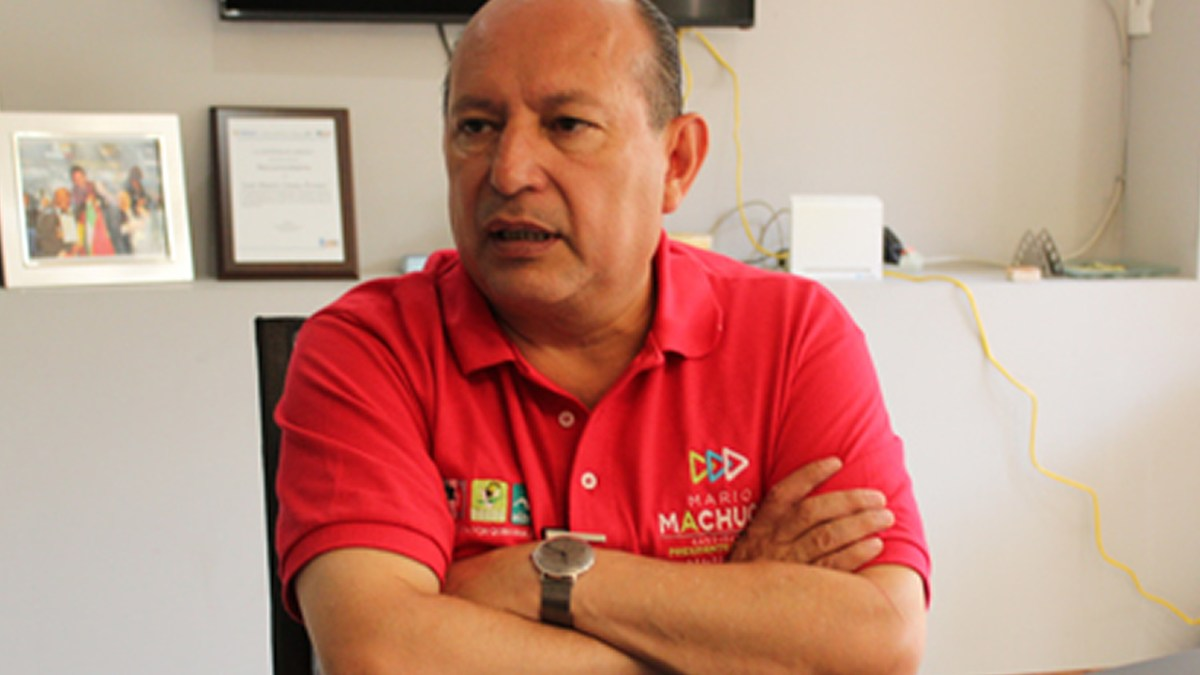 Con mano firme gobernaré Cancún: Mario Machuca