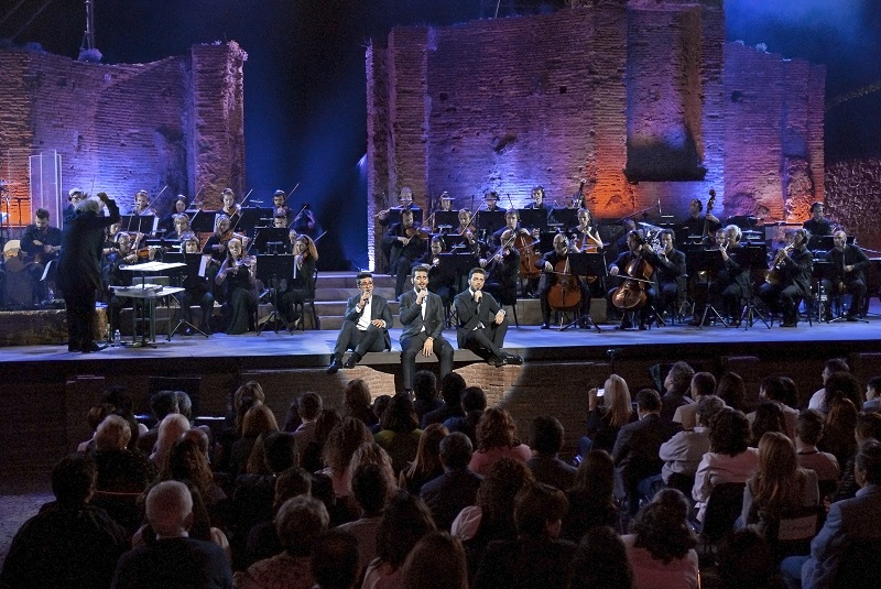 """Il Volo """"Live 2015"""" Anfiteatro di Pompei - Ercolano"""