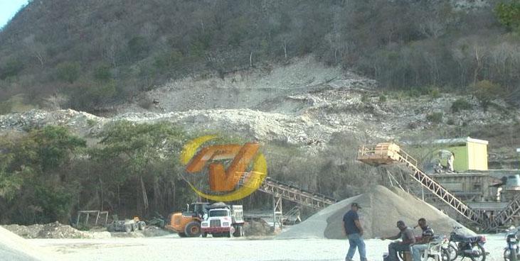 planta trituradora piedras Rio Arriba 2015REC