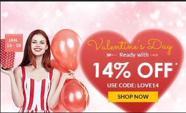 Rosegal Valentines Day