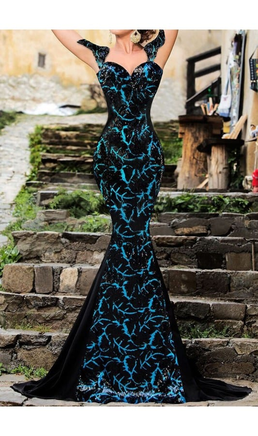 rochie-de-ocazie-elegant-turquoise