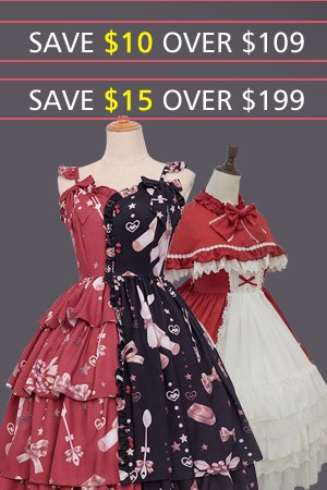 Worried about looking attractive this season- Learn how to be slimming with this Lolita clothing this summer