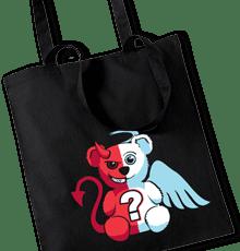 Anděl vs. ďábel taška