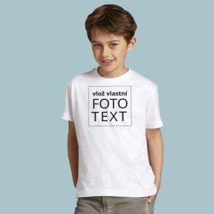 Dětské triko s vlastním potiskem