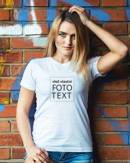 dámské tričko s vlastním potiskem