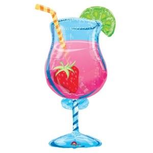 "BALÓN fólie  Tropický drink 35"""
