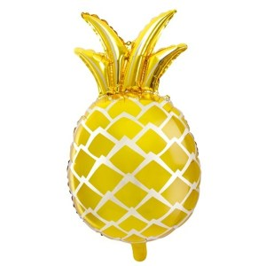 BALÓN fóliový Ananas zlatý