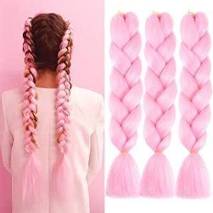 Vlasový příčesek - růžový