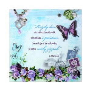 3D přání - Motýl ALBI