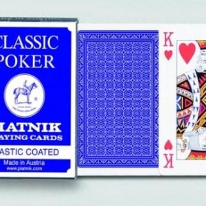 Karty Poker - CLASSIC (modrá krabička)