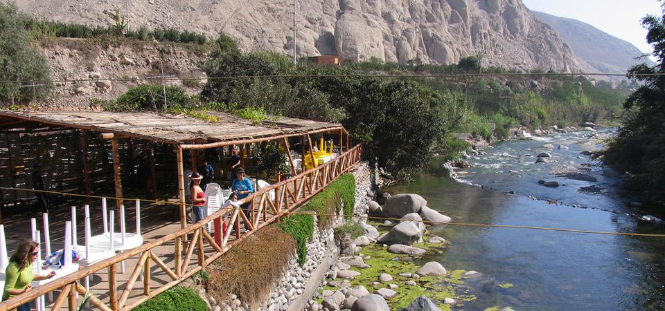 Visita Calango en el valle de Mala en Lima