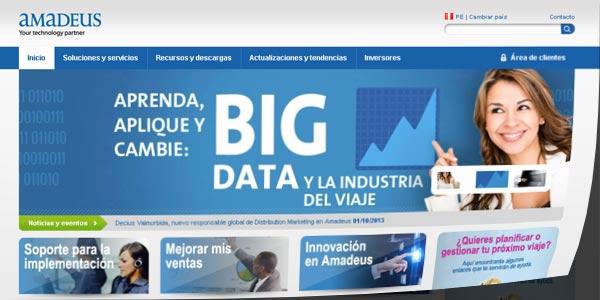 Amadeus presenta en Perú su nuevo sitio web local más rápido y moderno