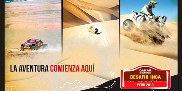 Mañana inicia Dakar Series en Pisco
