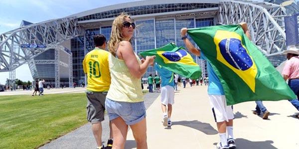 Cómo llegar a las ciudades sedes del Mundial Brasil 2014