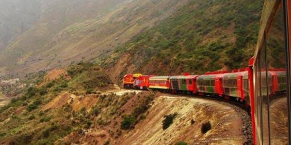 Salidas del Ferrocarril Central Andino 2014