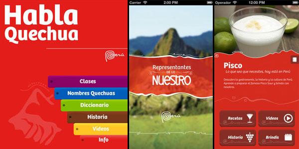 Apps de Promperú para tu próximo viaje por el Perú