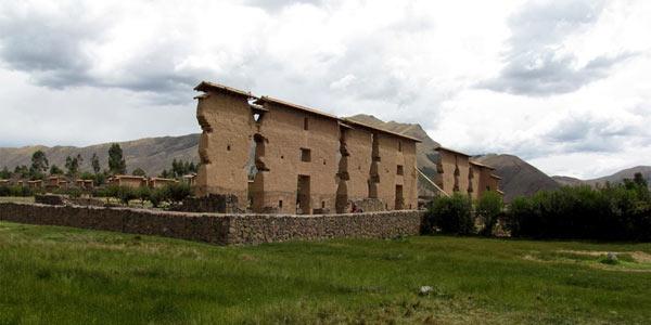 La casa de Wiracocha en Racchi, Cusco
