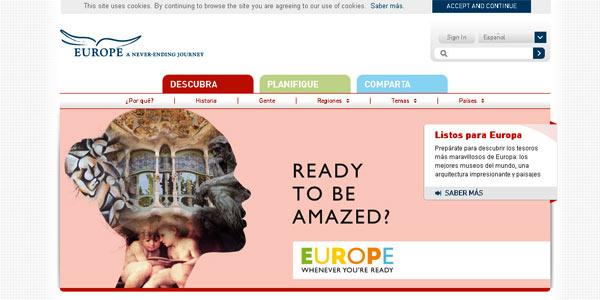 VisitEurope, una nueva aplicación móvil de búsqueda, inspirará a los turistas