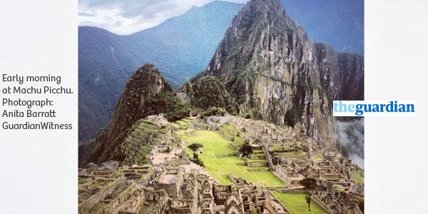 The Guardian: Machu Picchu entre las mejores fotos tomadas con smartphone