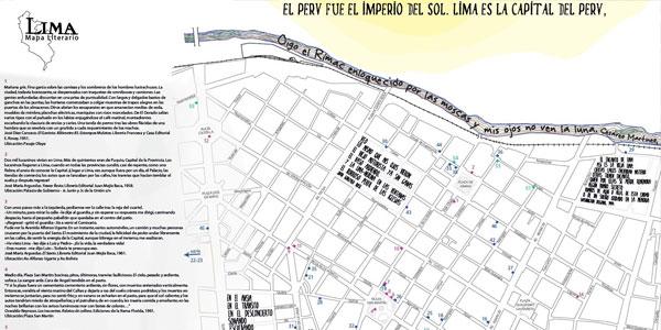 Descubre el Mapa literario de Lima, una ruta para convertirse en lectores de la ciudad