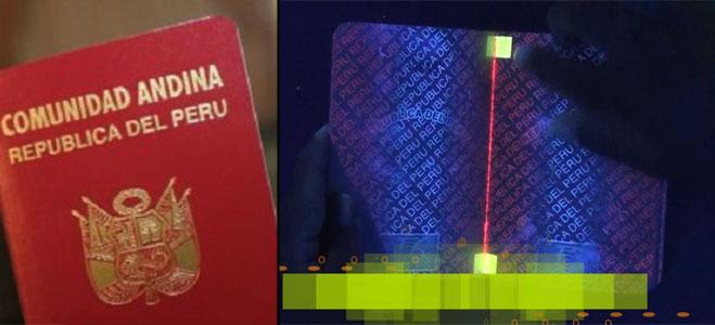Pasaporte electrónico para peruanos disponible en setiembre