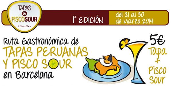 Ruta Gastronómica Peruana en Barcelona