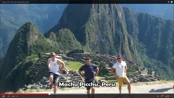 Turistas Irlandeses graban video en Lima, Ica y Machu Picchu