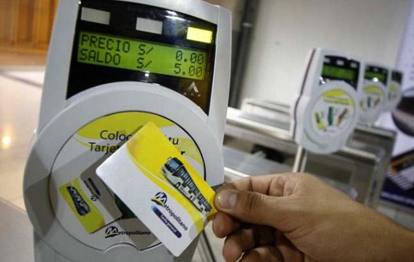 Tarjetas especiales para turistas en los transportes públicos de Lima
