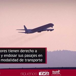 INDECOPI: Viajeros pueden postergar y endosar sus pasajes en cualquier modalidad de transporte