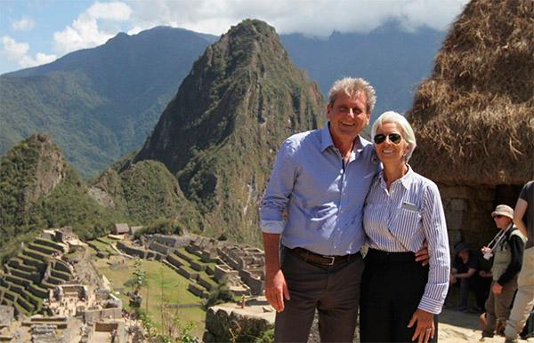 Directora del FMI visitó Machu Picchu  antes de iniciar Reuniones Anuales