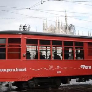 Youtube: Disfruta de un paseo inolvidable con sabor peruano en el tranvía de Milán