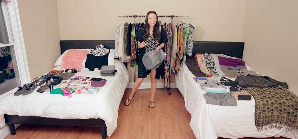 Aprende a empacar más de 100 cosas dentro de tu maleta carry on