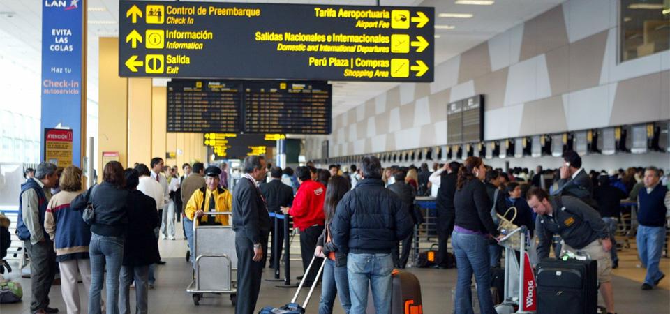 Jorge Chávez moviliza a 16 millones de pasajeros por año, un 60% más que su capacidad