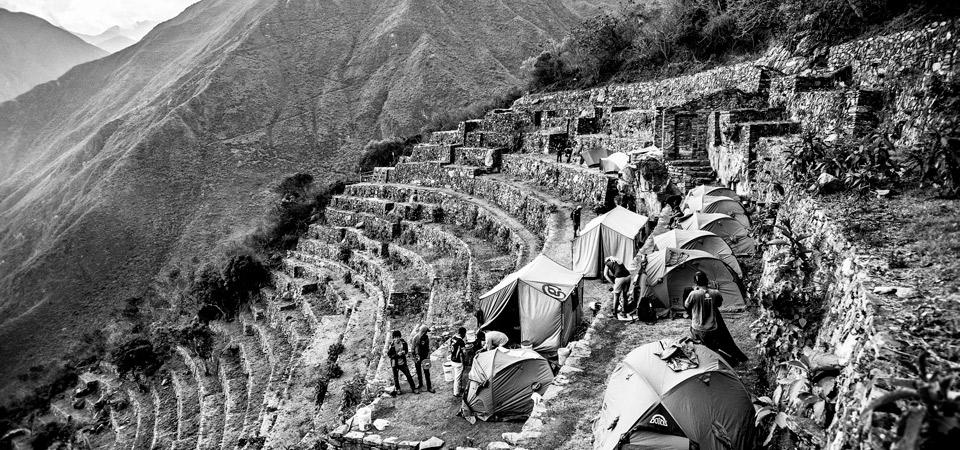 Fotografías de Machu Picchu y Choquequirao en The New York Times