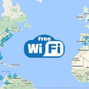 Lista de aeropuertos del mundo con WiFi gratis