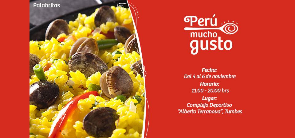 Feria Gastronómica Perú Mucho Gusto Tumbes del 4 al 6 de noviembre
