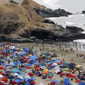 Las mejores playas  en Lima para acampar por Año Nuevo
