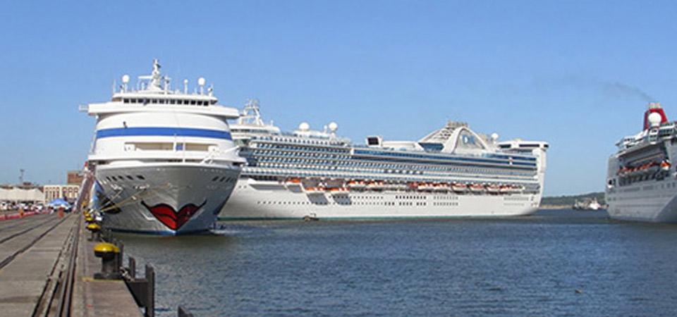 Lanzamiento de temporada de cruceros en Punta del Este