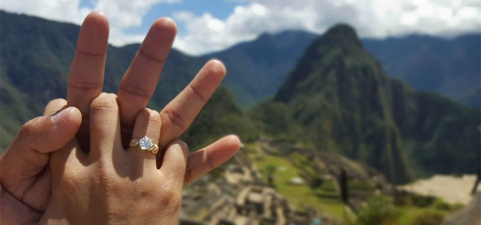 Inca Rail celebra el día de los enamorados en el Cusco