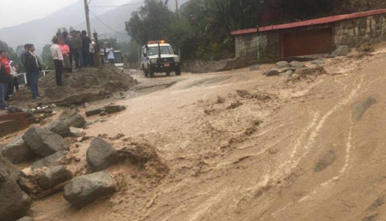 Lima Centro: Complejos recreacionales de Santa Eulalia son inundados por ríos