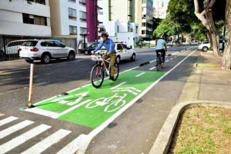 Inauguran ciclovía en Villa El Salvador y en 30 días inaugurarán otra en San Isidro